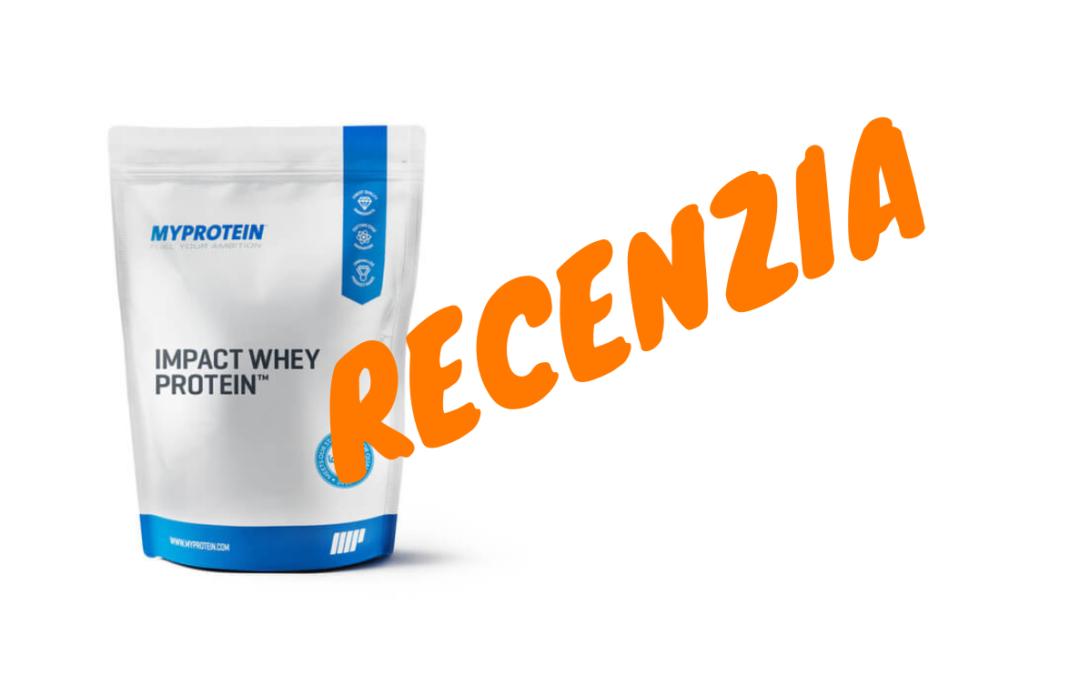 RECENZIA: Impact Whey Protein