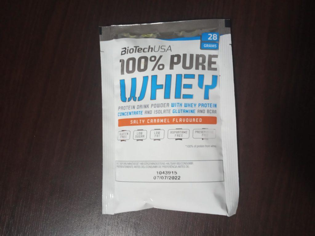 100% Pure Whey Protein - recenzia