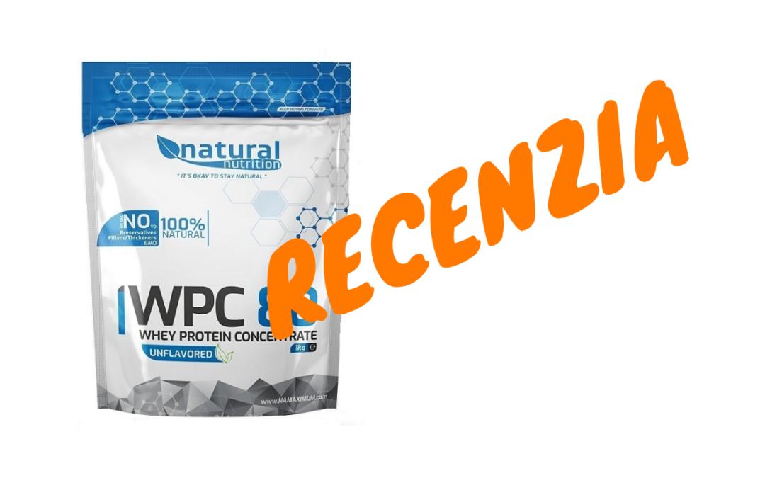RECENZIA: WPC 80 Natural Nutrition