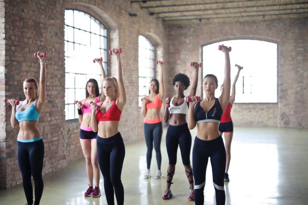 HIIT tréning - skupinové cvičenie