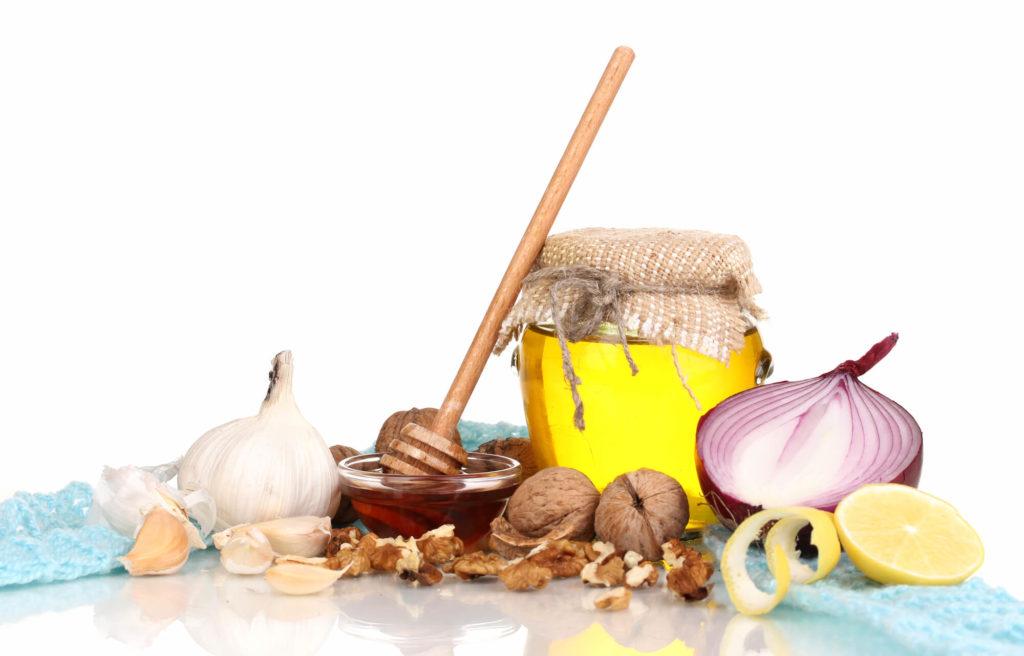 Imunita - cesnak, med a cibuľa