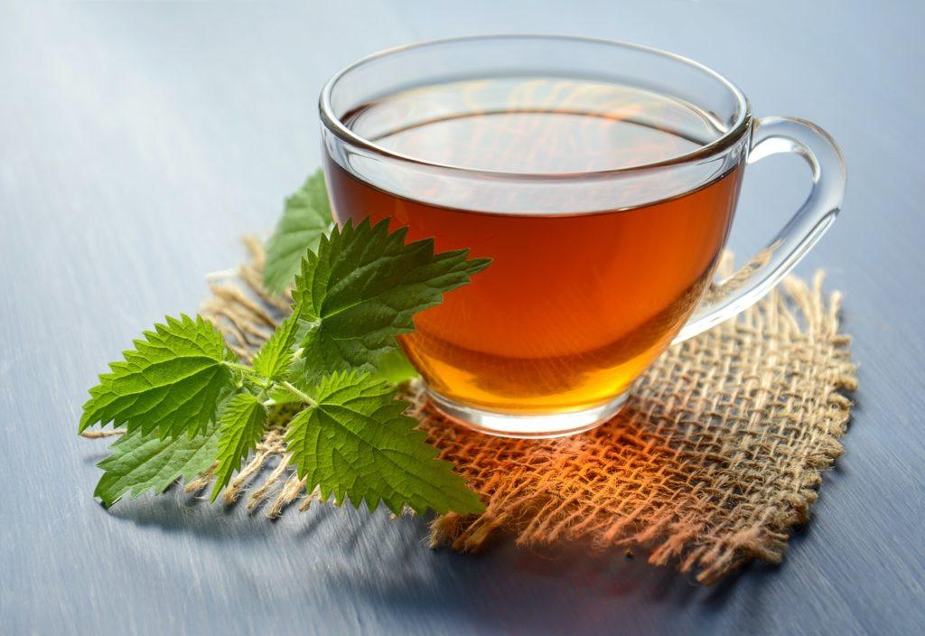 Šálka zeleného čaju