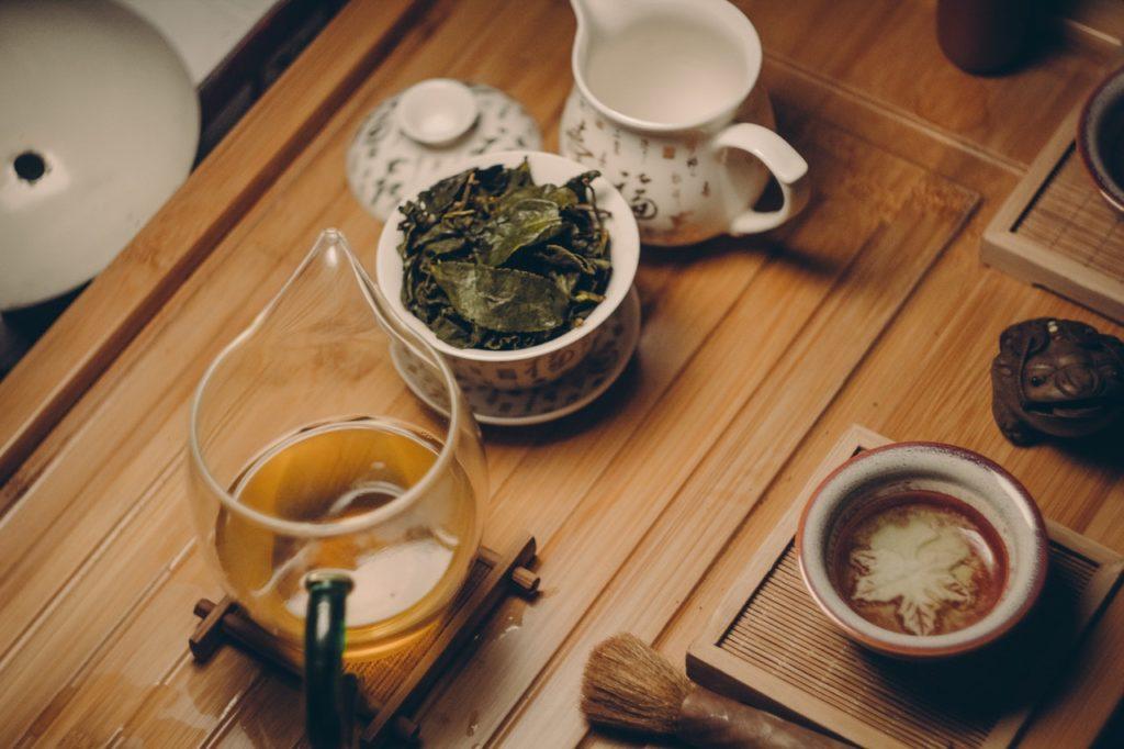 Sada na zelený čaj