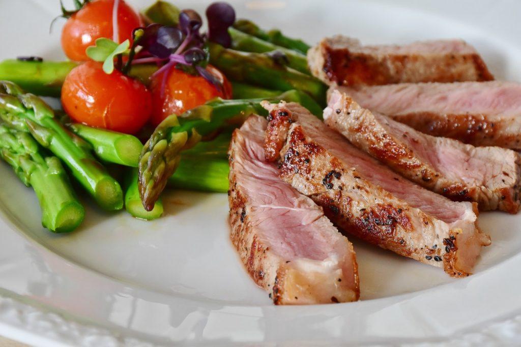 Mäso a zelenina