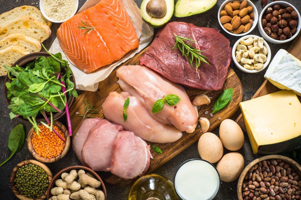 Bielkovinové potraviny