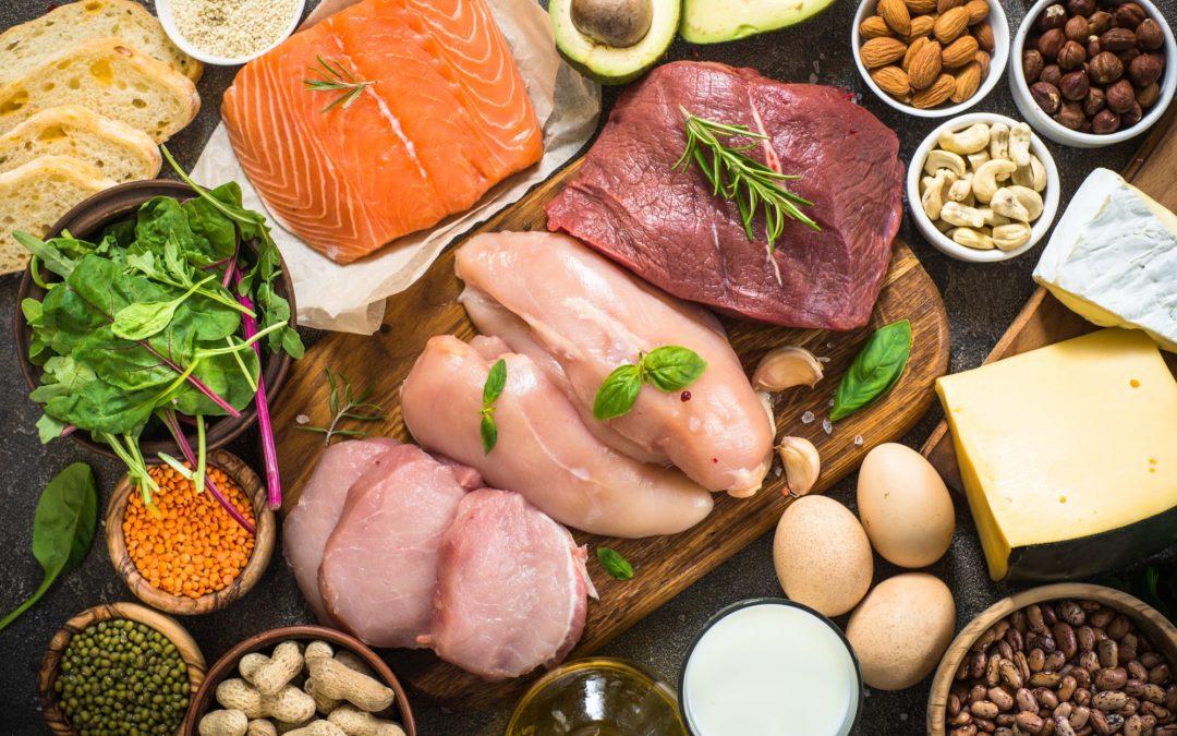 Potraviny, ktoré sú plné kvalitných bielkovín