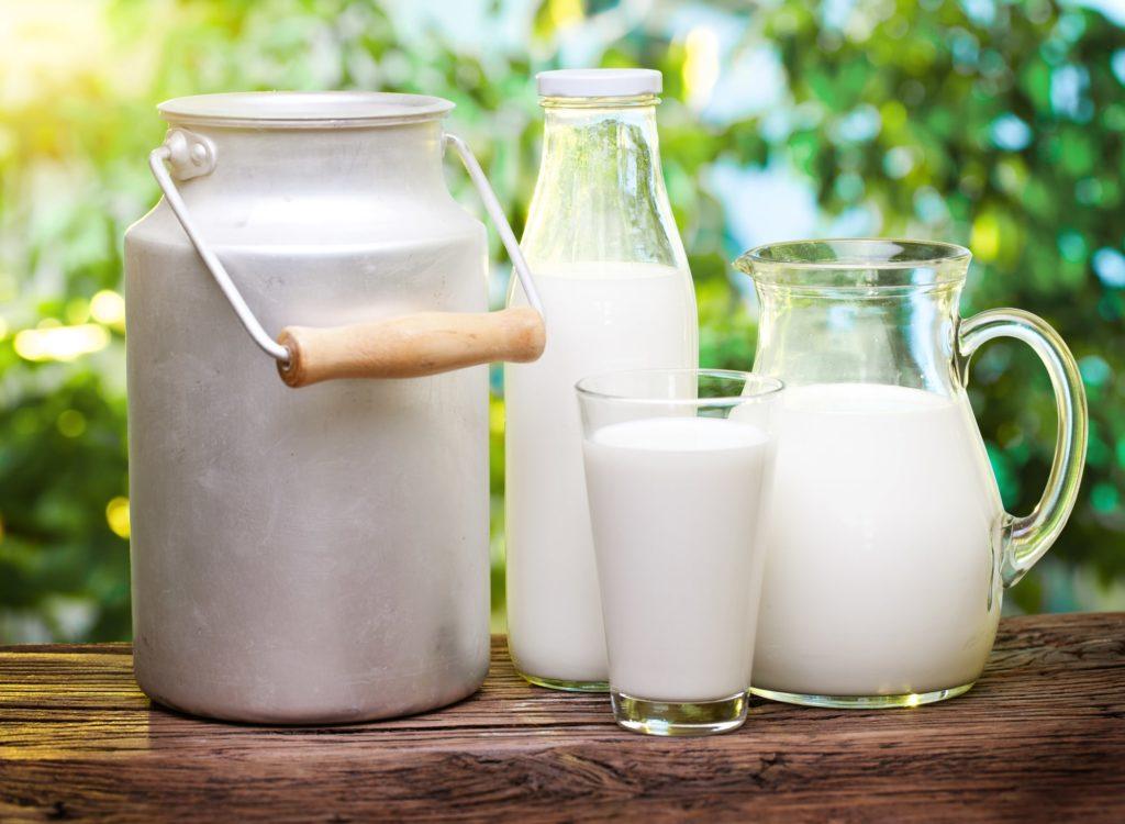 Mlieko vo fľašiach