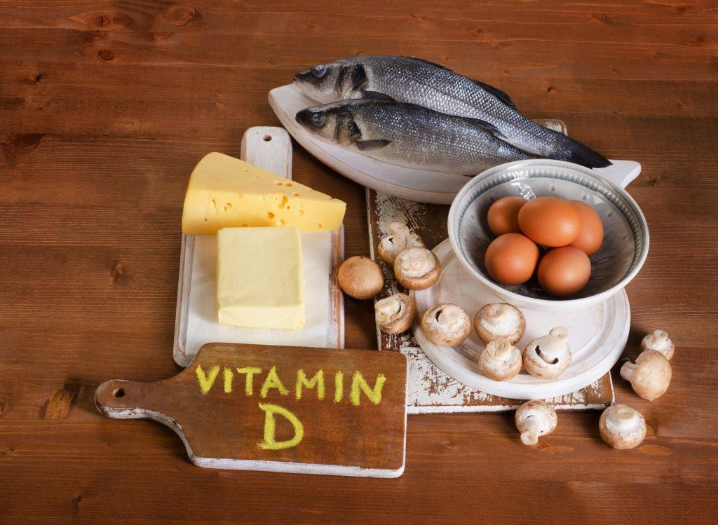 Vitamín D - potraviny