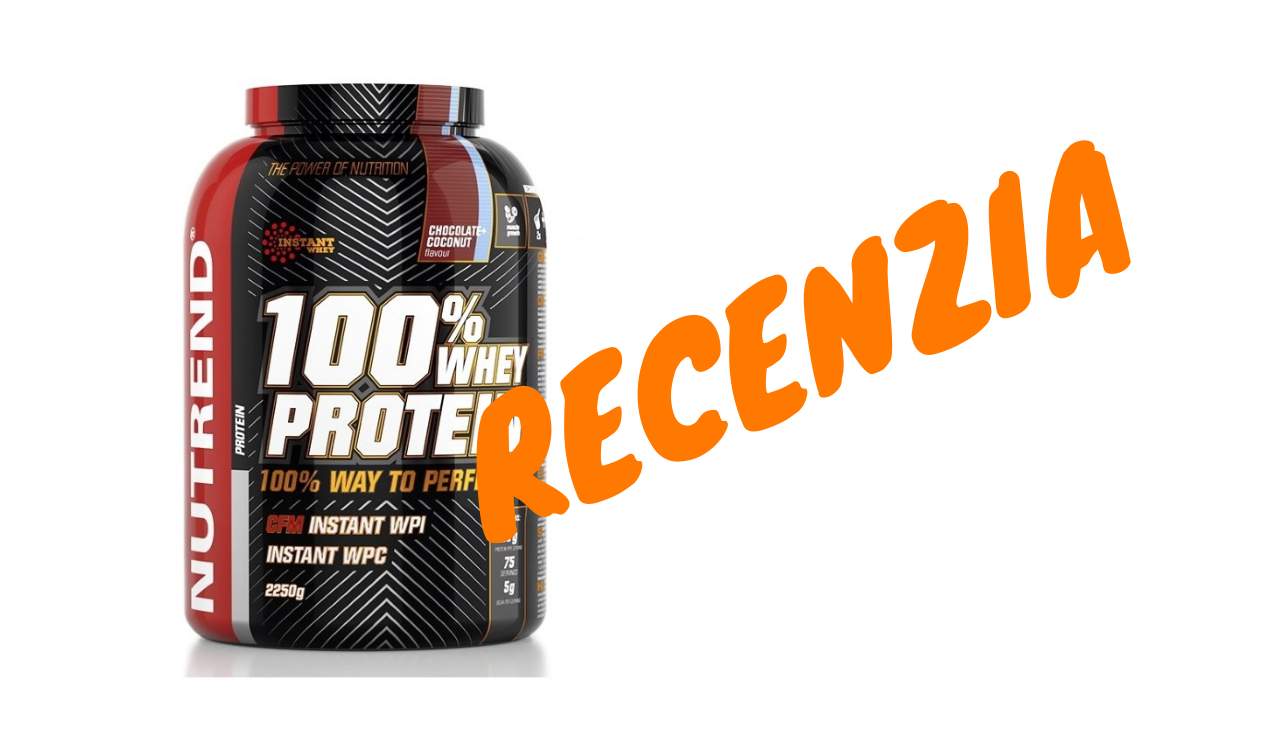 RECENZIA: Nutrend 100% Whey Protein
