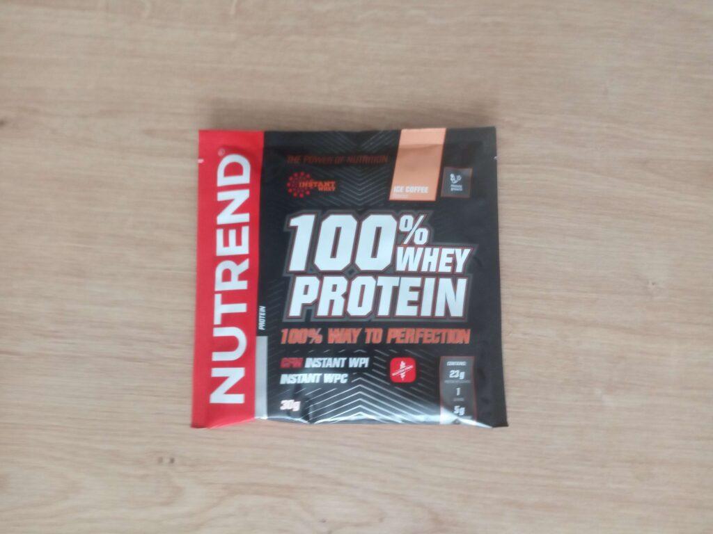 Nutrend 100% Whey Protein - vzorka