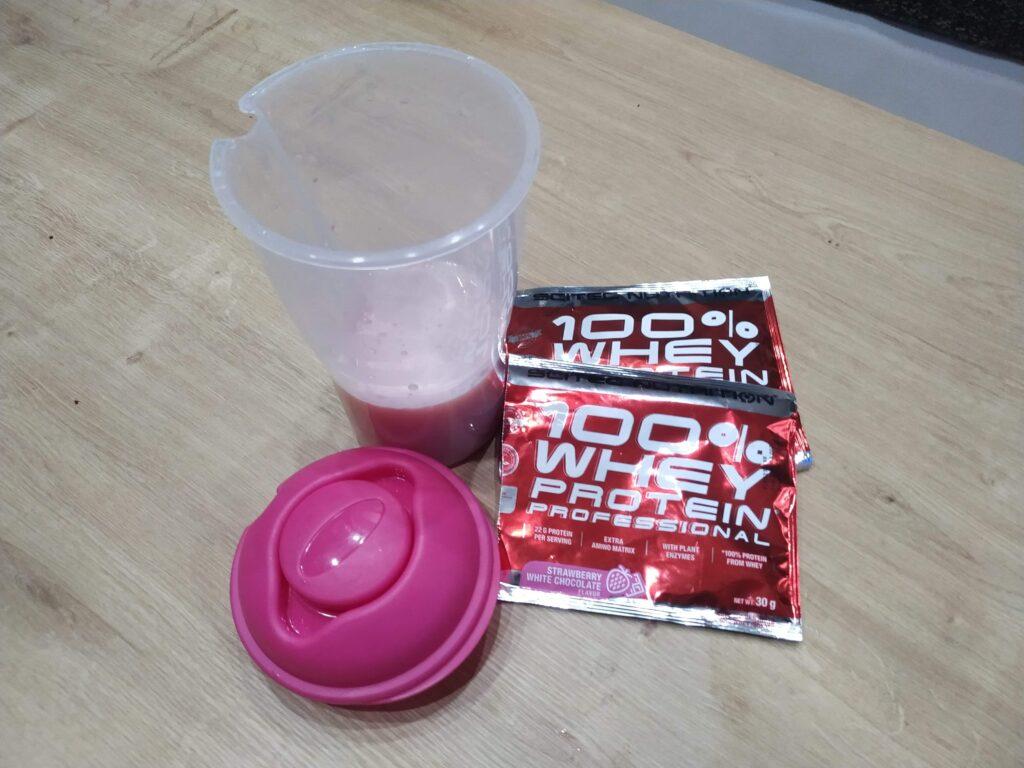 Scitec 100% Whey Protein Professional - 2 vzorky