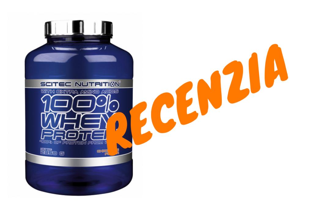 RECENZIA: Scitec 100% Whey Protein