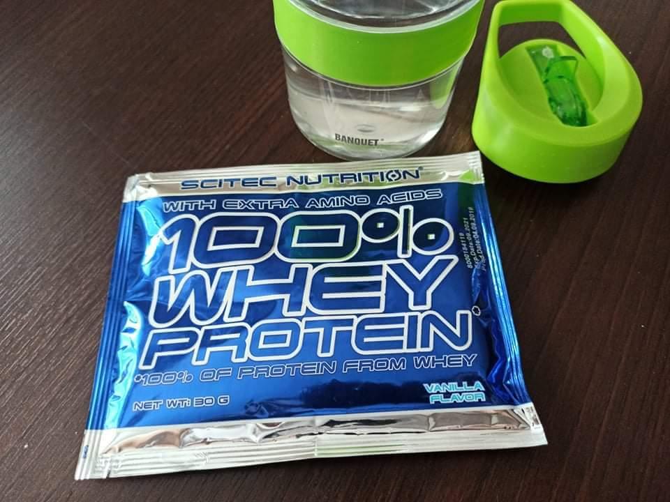 Scitec 100% Whey Protein - sáčok