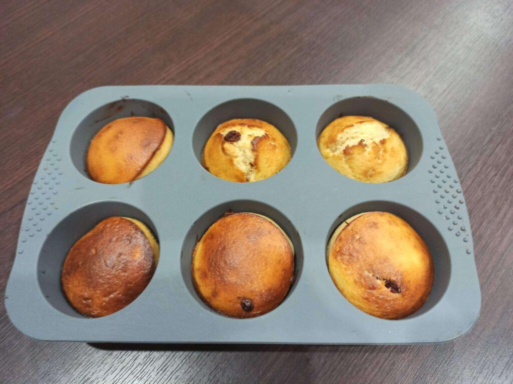 upečené proteínové muffiny